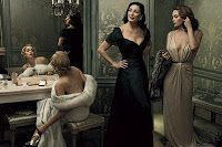 Film Noir : Vanity Fair 2007 | Sharon Stone, Anjelica Huston, Diane Lane