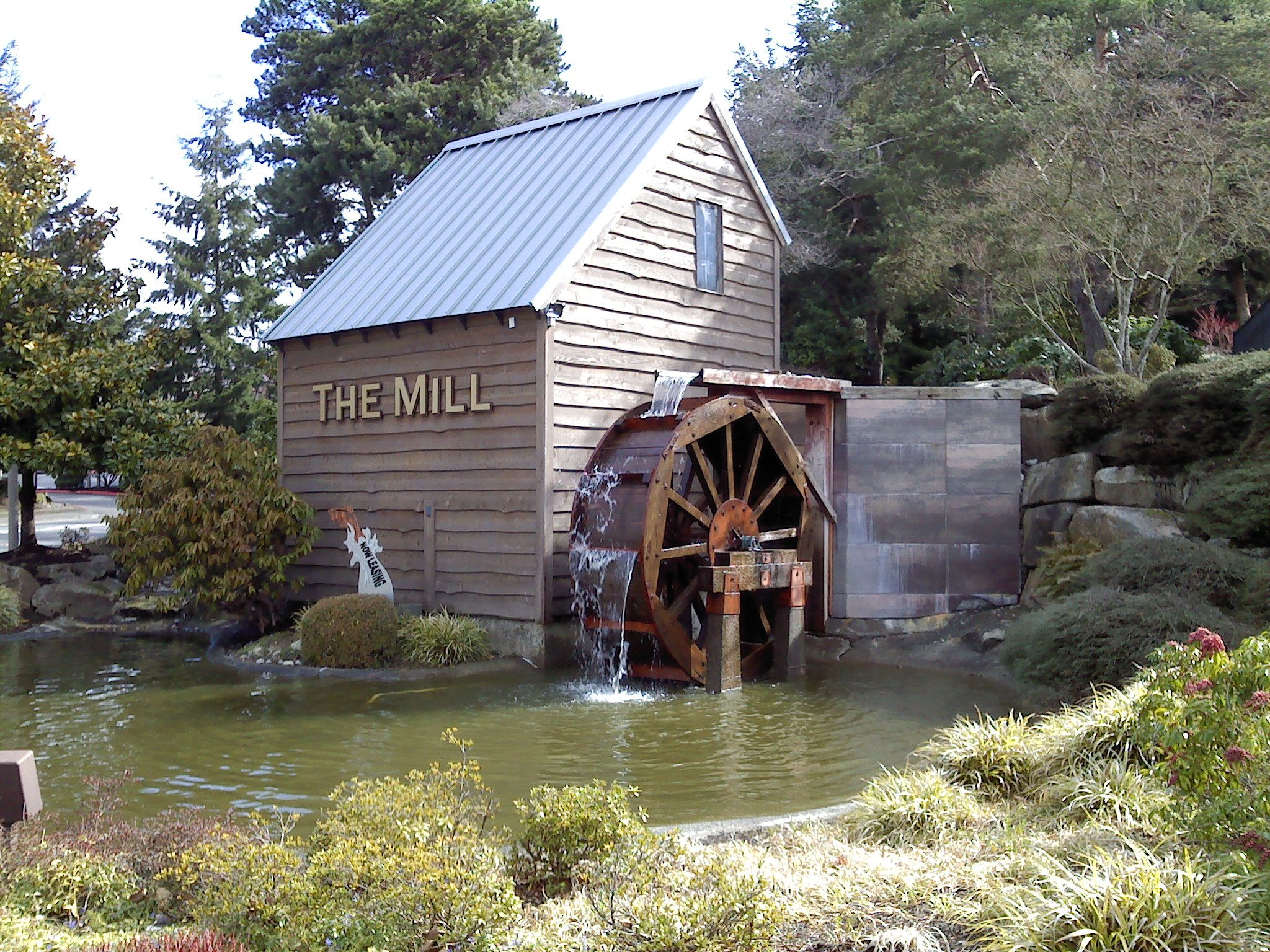 Water wheel mill in fall google search water wheel for Mill log