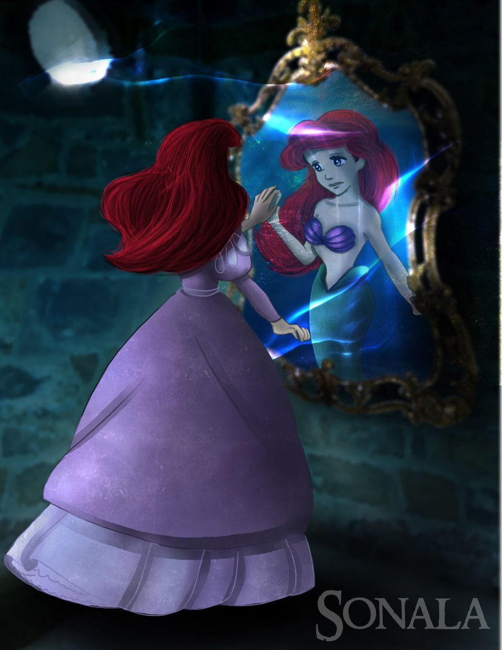 "Remember the Sea by Sonala.deviantart.com on @deviantART - Ariel from ""The Little Mermaid"""