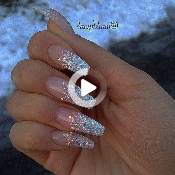 38 Best Trending and Stunning Long Coffin Nail Design for Wedding and