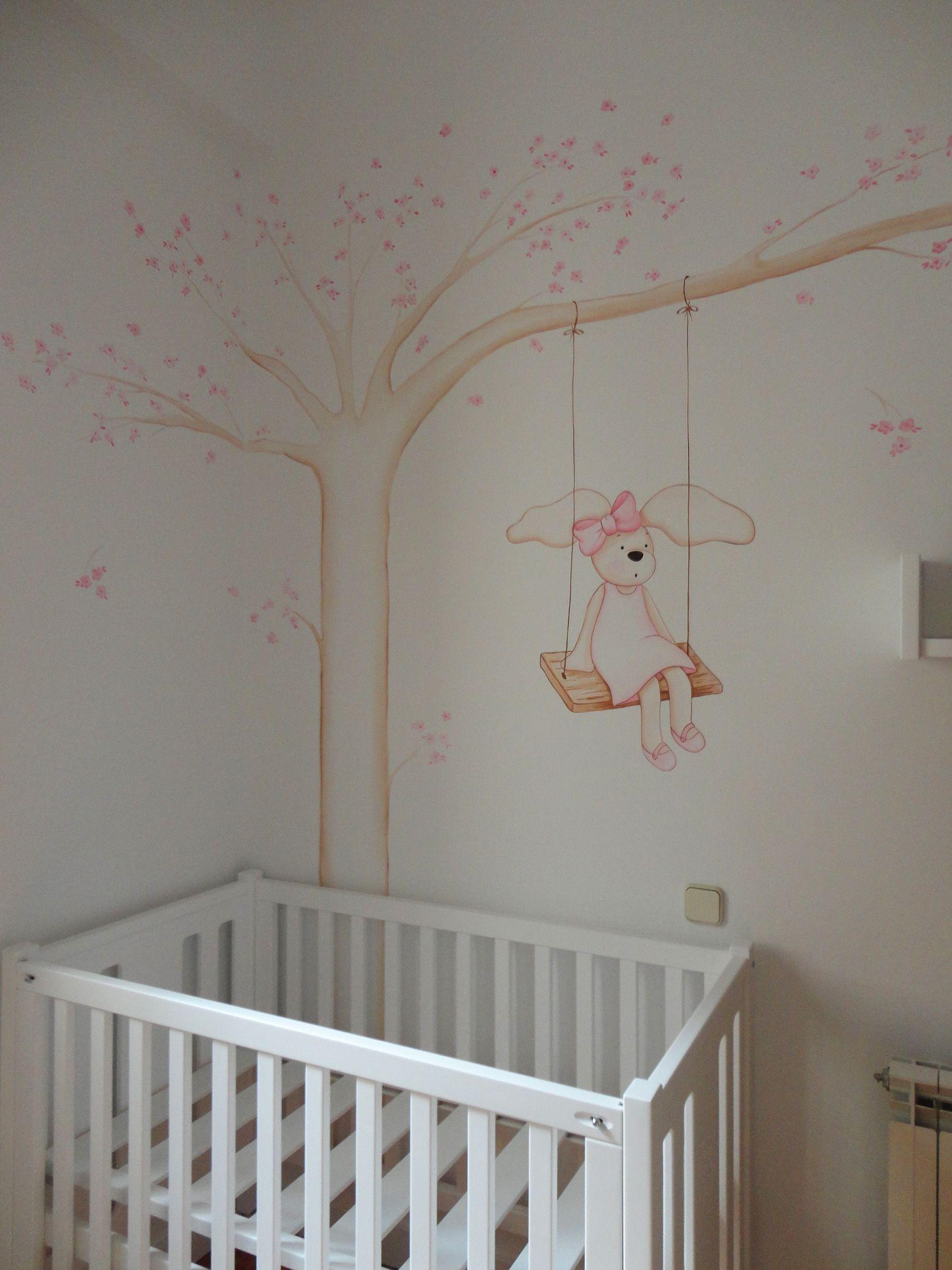 Decoracion habitaciones de bebe con murales infantiles - Dormitorios ninos segunda mano ...