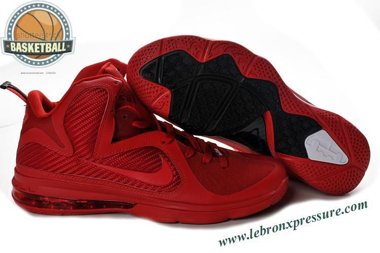 nike lebron 9 christmas red 469764 116