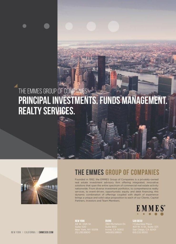 Commercial Real Estate Brand Design Website Logo Des - Real estate investor website templates