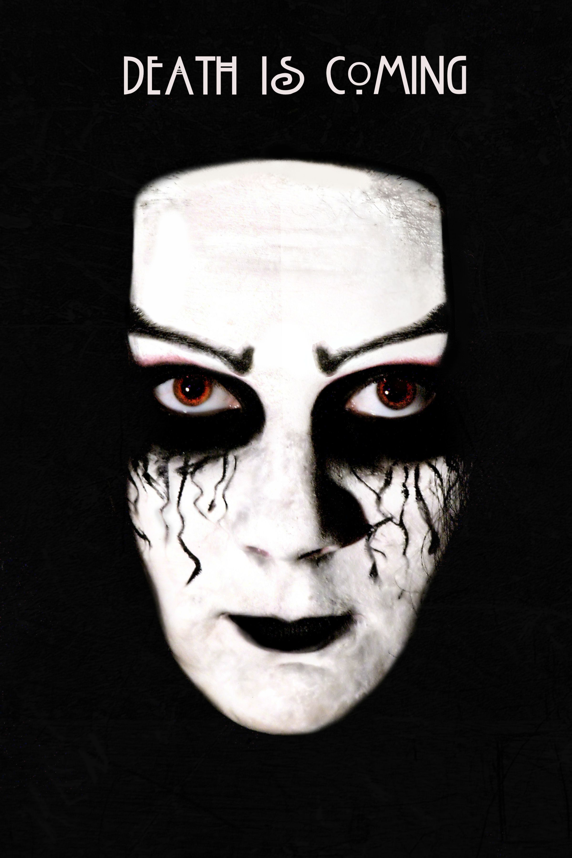 Halloween Makeup Tutorial Dark Darkness Black White Face Skin Ahs Blood Scary Creepy Czechgirl Czech Beauty Blogger Photo Nikonj
