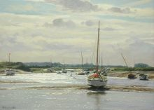 Peter Barker Royal Society of Marine Artists Annual Exhibition 2015 | Mall Galleries