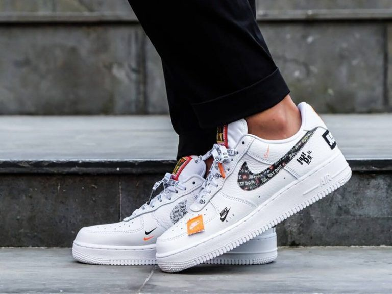 Nike Air Force 1 07 Premium Just Do It White New Nike Air