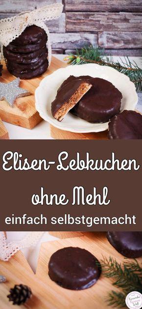 Elisen-Lebkuchen ohne Mehl #recettepaindépices