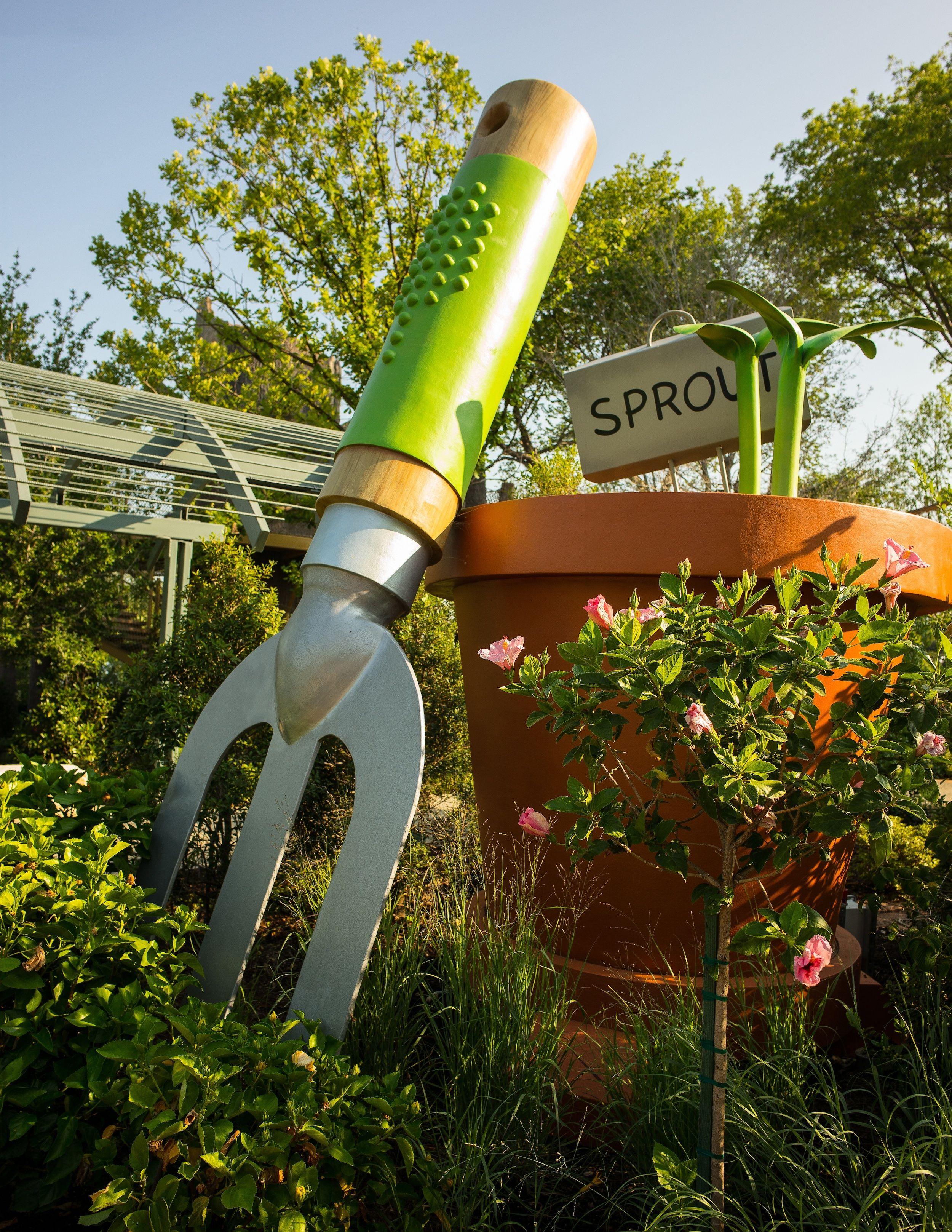 The Rory Meyers Children\'s Adventure Garden, Garden, Children\'s ...