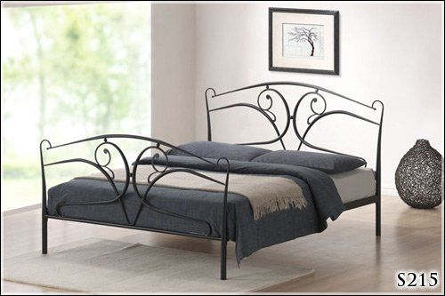 BRAND NEW 5ft METAL BLACK KINGSIZE BED FRAME: Amazon.co.uk: Kitchen ...
