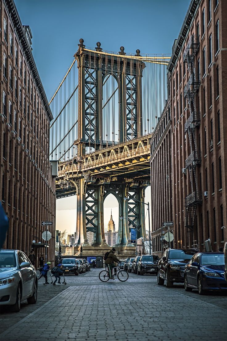 be262b1d Dumbo, Brooklyn - New York | made in NYC | Brooklyn new york, New ...