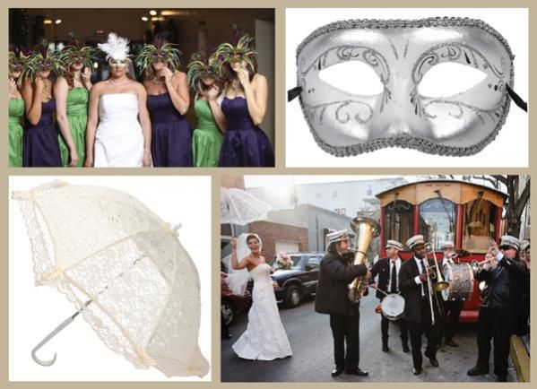 Mardi Gras Wedding-Have A Mardi Gras Wedding Theme