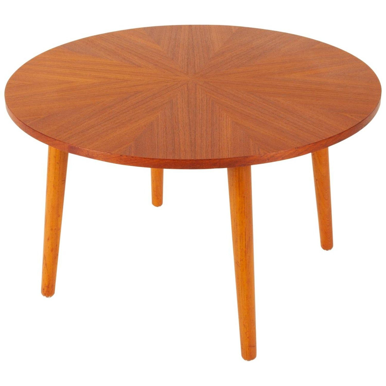 Danish Round Teak Coffee Table By Holger Georg Jensen 1960s Coffee Table Teak Coffee Table Round Coffee Table [ 1500 x 1500 Pixel ]