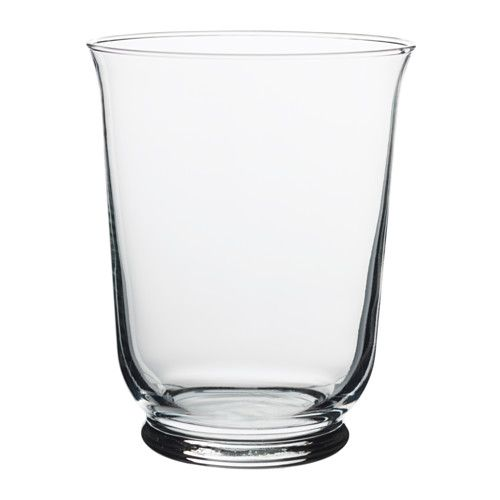 Vasen Ikea pomp vase candle holder clear glass wedding wedding and centrepieces