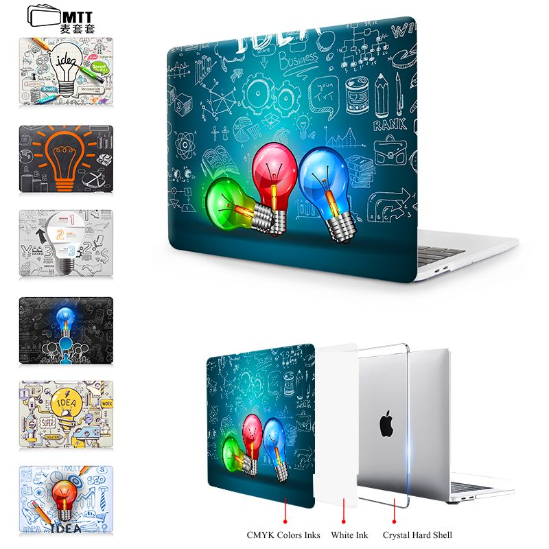 Mtt For Macbook Pro 13 Case Pro 15 A1707 Touch Bar Creative Bulb Cover For Apple Mac Book Air Pro Retina 11 12 13 3 Macbook Pro 13 Case Macbook Pro 13 Macbook