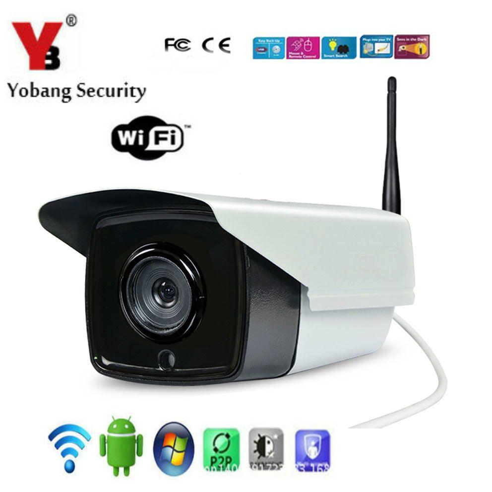 YobangSecurity Outdoor Waterproof WiFi Wireless IP Camera, IR-Cut ...