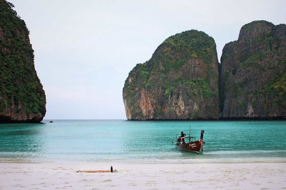 Ko Phi Phi Li, Thailand (The beach)
