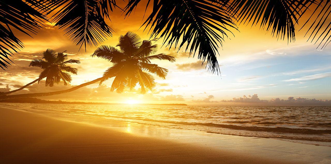 Custom Mural Wallpaper Hd Beautiful Sandy Beach Sea View: Jamaica Begins With Crystalline Waters Flowing Over