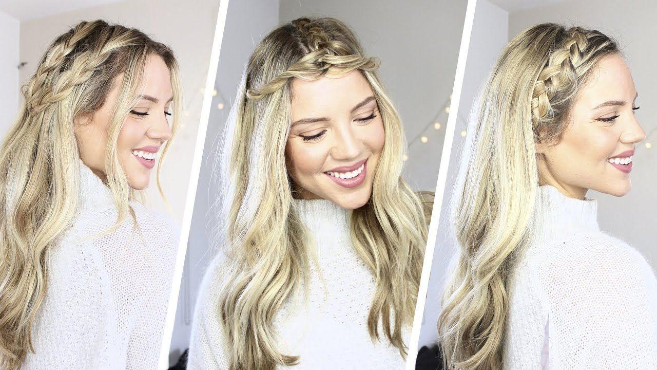 Inspirierende Geflochtene Frisuren Für Schulterlanges Haar Neue