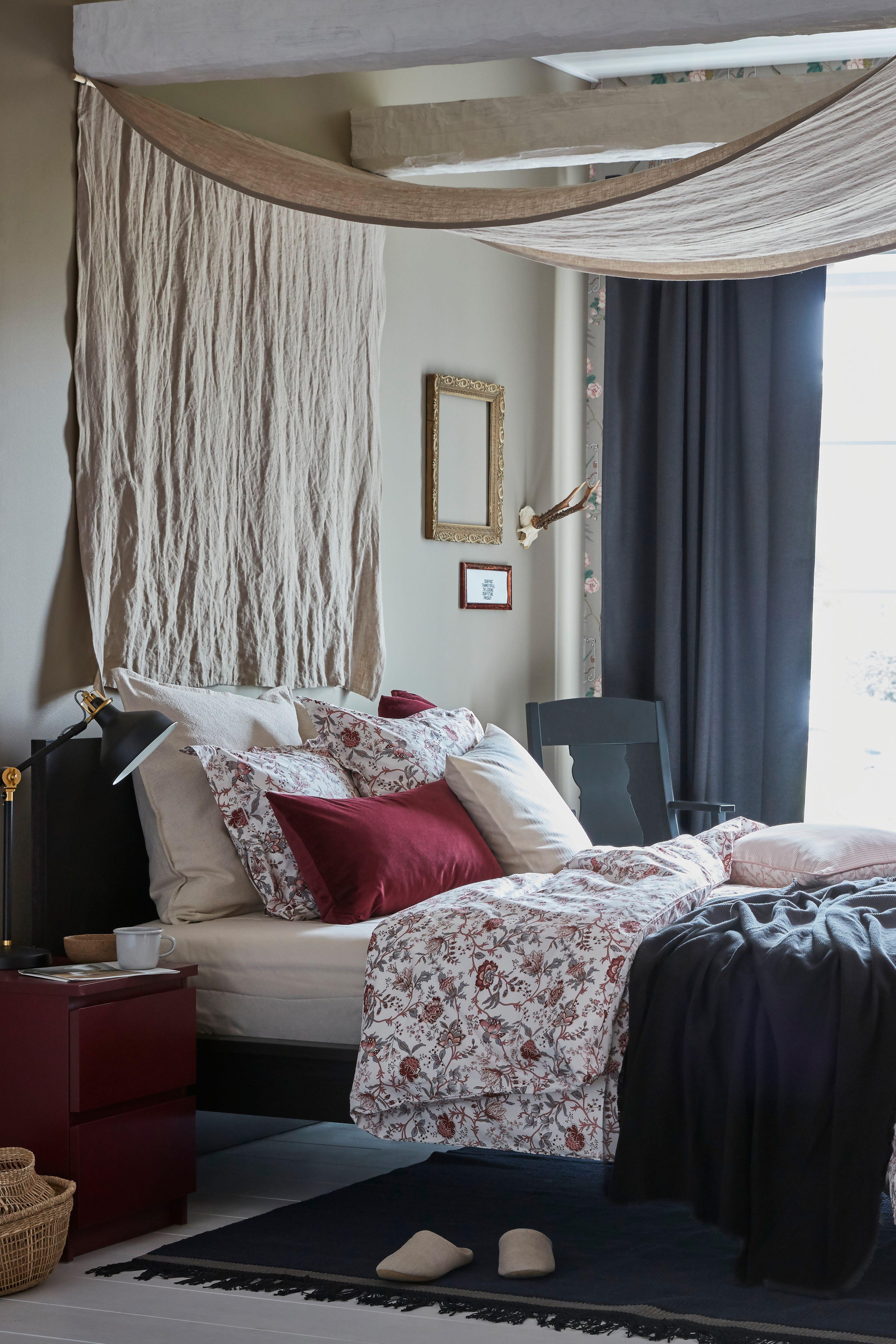Bettwäscheset 2 Teilig Sprängört Weiß Rosa In 2019 Schlafzimmer