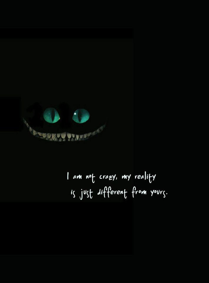Alice In Wonderland Cat Alice Wonderland Quotes Inspirational Quotes Quotes
