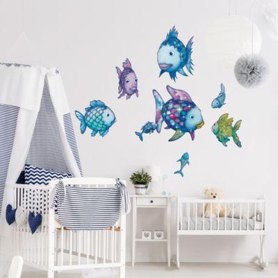 Das Ist Doch Mal Ein Schönes Wandtattoo Für Das Kinderzimmer   Der Bunte  Regenbogenfisch!