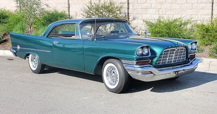 1957 Chrysler 300C – 392 Firepower Hemi V8 – Parade Green