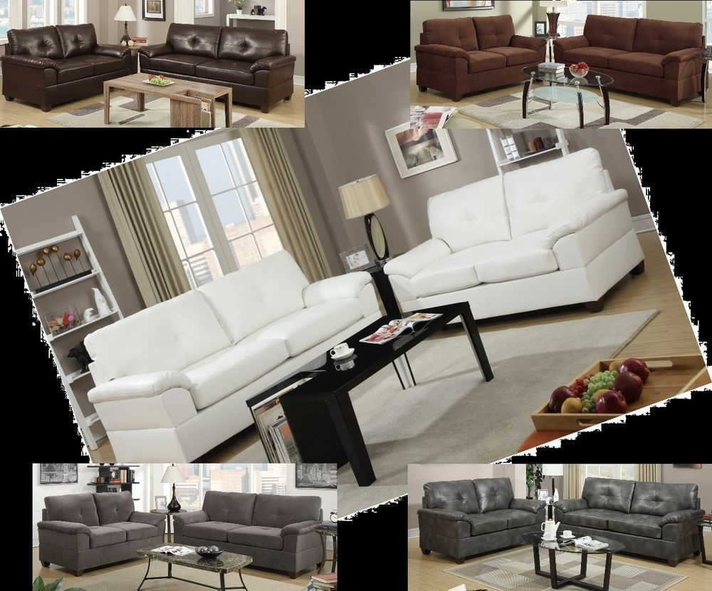 Modern Cream White Leather Sofa Set Couch 6 Colors Lowest Price Guaranteed White Leather Sofas White Leather Sofa Set Leather Sofa Set