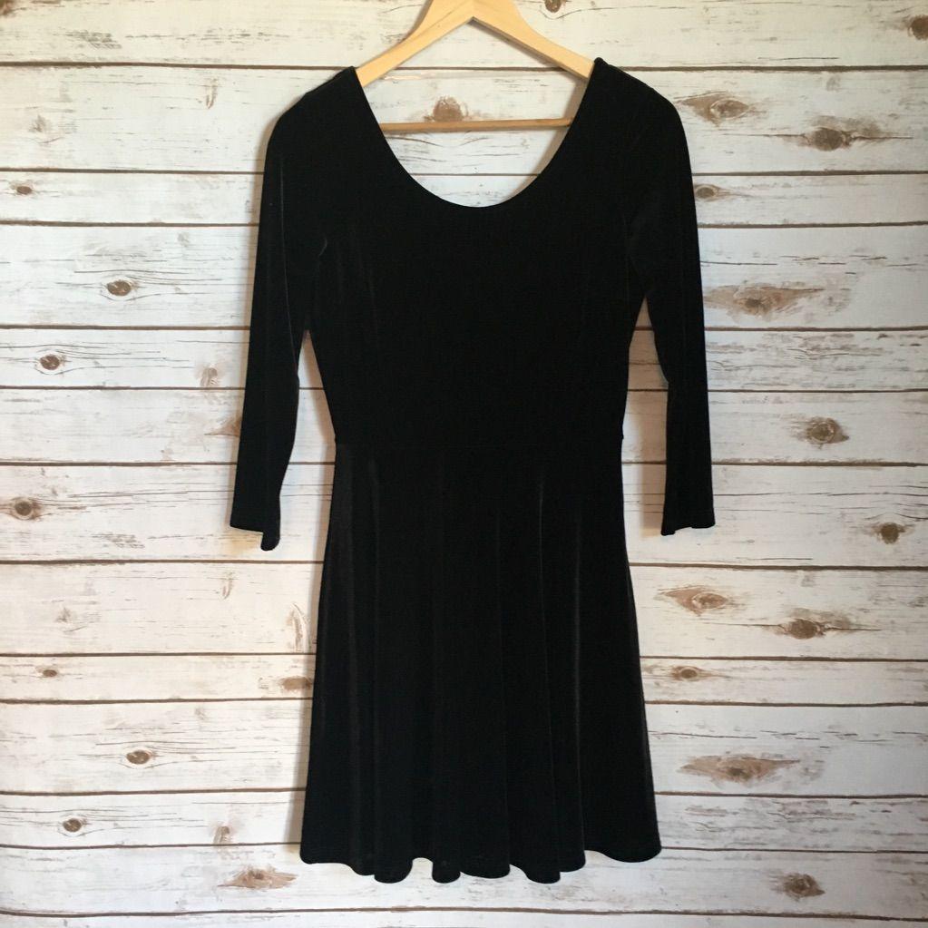 Maitain black velvet dress black velvet black and products