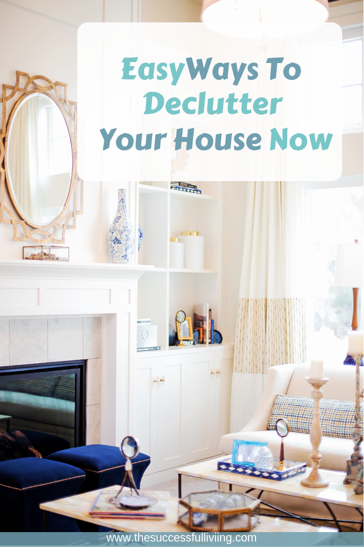 Our House Can Be Clean But Still Feel Like It S Weighing Us Down Sometimes We Just Have Too Much Stuff These Are My Easy Ways To Declutter Your Now