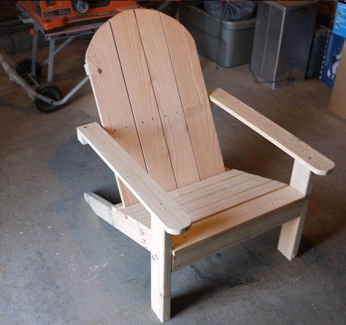 Houten Stoel Tuin.Adirondack Chair Houtbewerkingsplannen Buitenstoelen Houtwerk