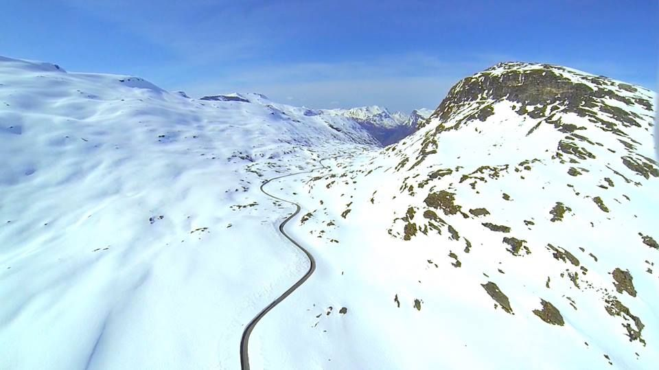 Snapshot at my today's #adventure in the #Norwegian mountain with DJI Global and GoPro - #dalsnibba #Djupvasshytta #Langevatnet #Geiranger #fjord #norway #norge