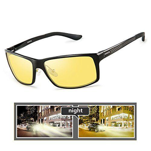 f3d1e0fc66 YIJIUERBA SOXICK Night Vision Polarized Glasses Anti-Glare HD Night Driving  Glasses Vision Glasses