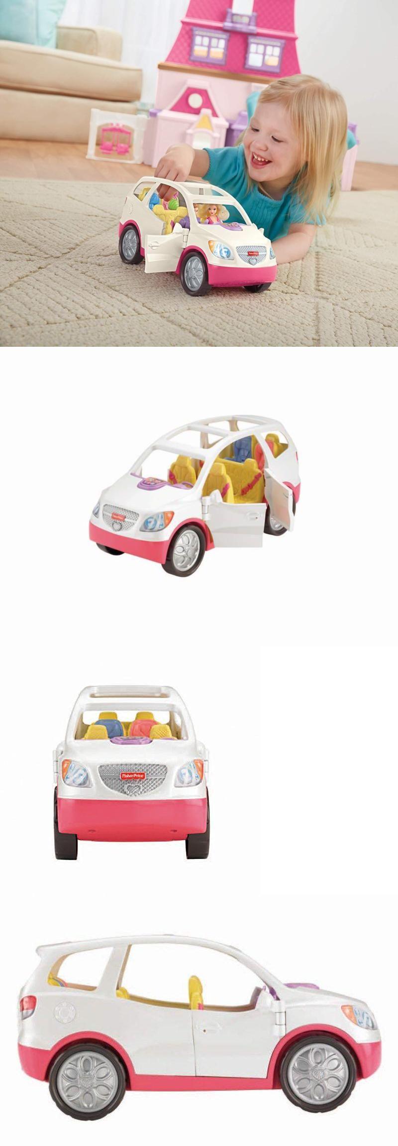 Dollhouses 20898 Loving Family Suv Fisher Price Van Car Dollhouse