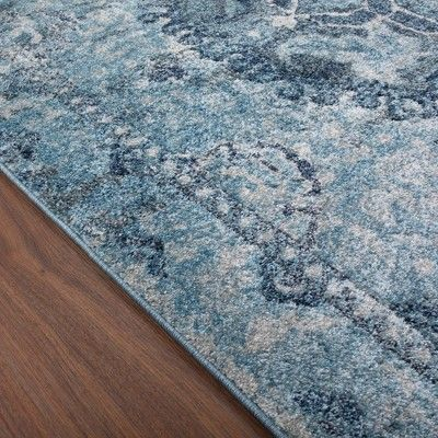3 3 X5 3 Blue Solid Woven Accent Rug Addison Rugs Area Rugs
