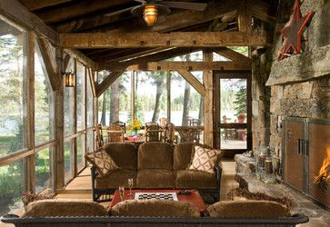 Cruz Cabin - rustic - porch - denver - RMT Architects