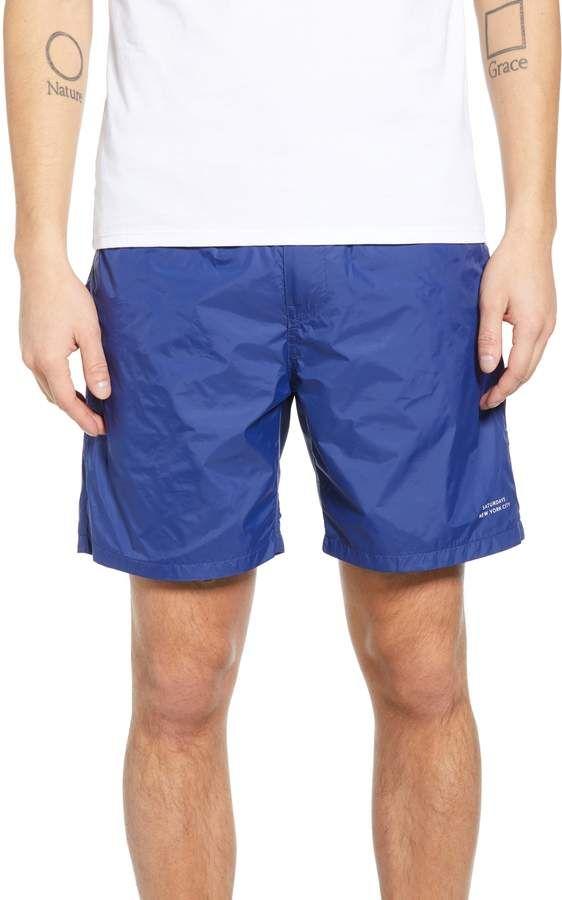 9f45e96e6f Men's Saturdays Nyc Trent Hybrid Athletic Shorts, Size Small - Black ...