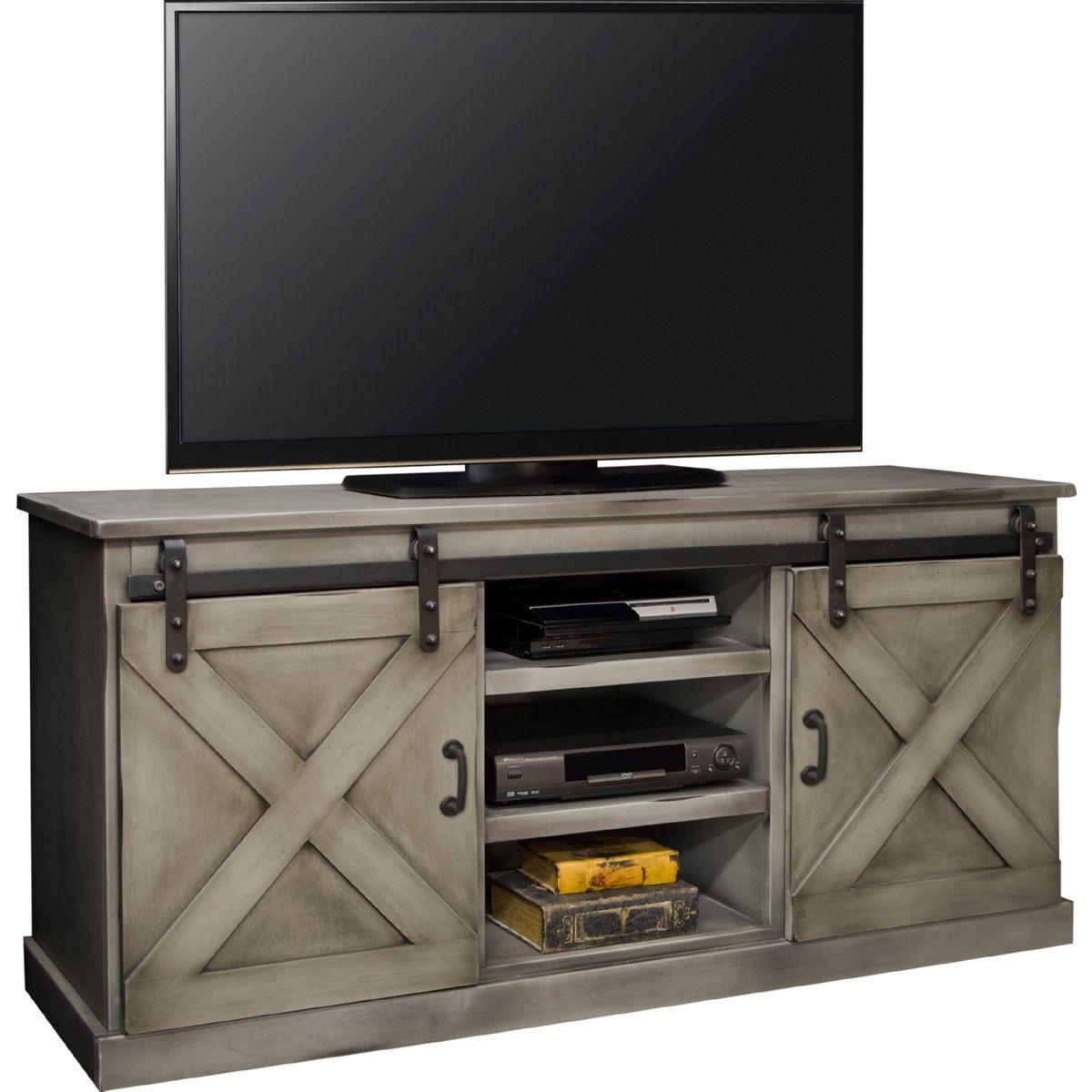 "Legends Furniture Farmhouse 66"" TV Stand Console in"