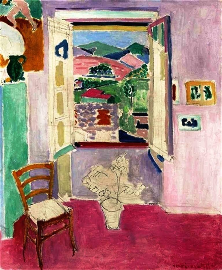 Henri Matisse - La fenêtre ouverte, 1911. | Henri matisse ...