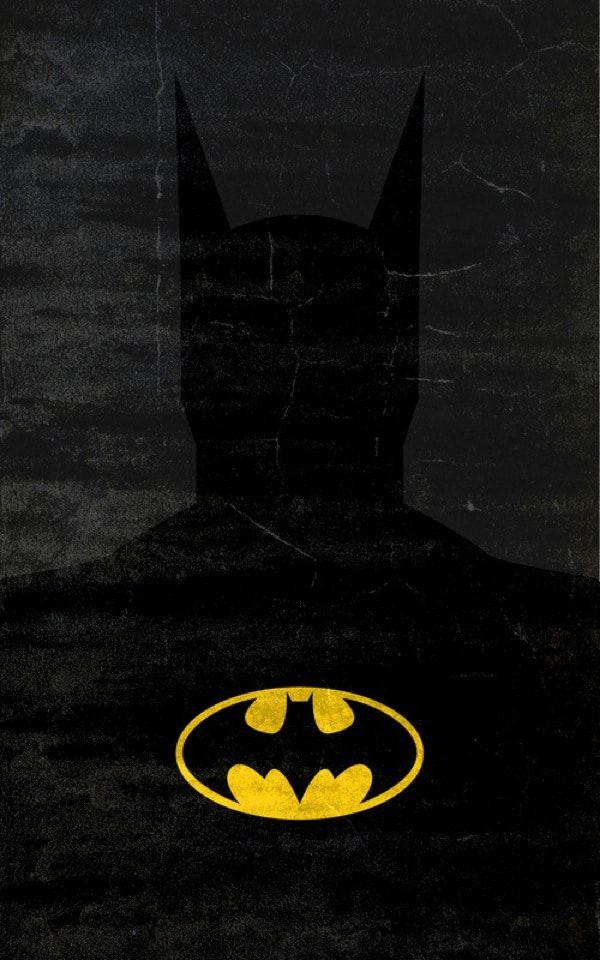 10 Gorgeous Minimalist Superhero Illustrations In Vibrant Colors Batman Wallpaper Superhero Poster Superhero Wallpaper Colorful cool batman wallpapers