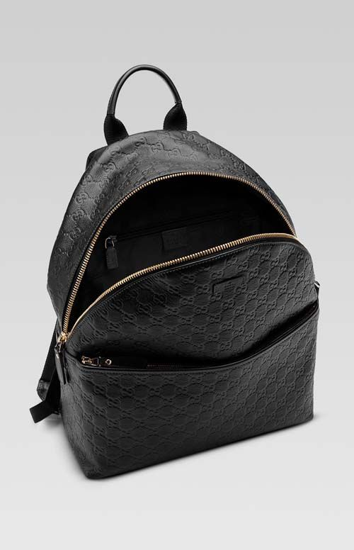 0418912bdff8 gucci backpack for men | Gucci men's black guccissima leather backpack  There's one for sale on