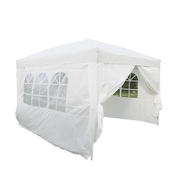Kinbor Kinbor 10ftx10ft Canopy Wedding Party Tent Heavy