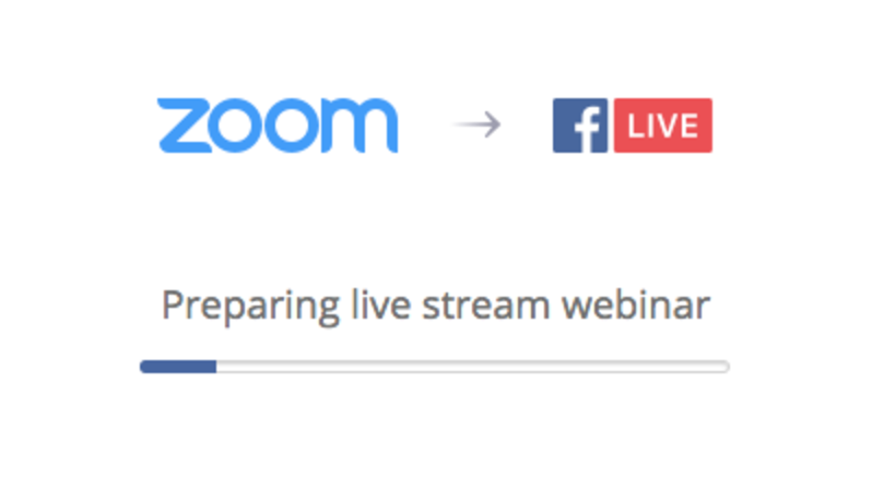 About You can stream a Zoom Webinar live on Facebook  Prerequisites