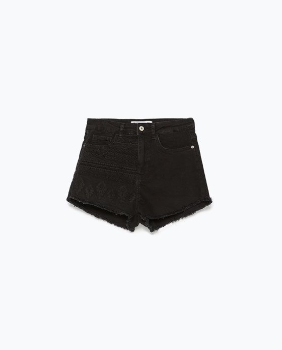 ZARA - WOMAN - DENIM SHORTS