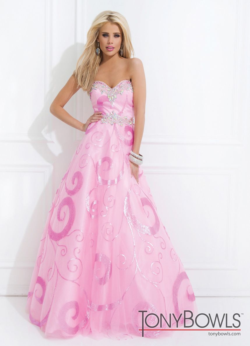 Tony Bowls Pattern Ball Gown 114543 - More Colors Available | Mi ...