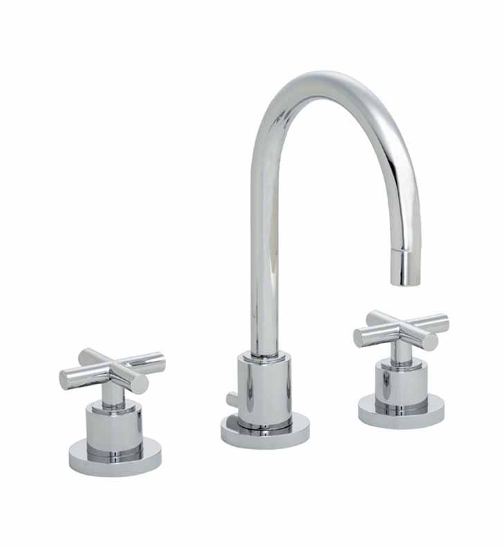 California Faucets 6502 BLK Tiburon Widespread Lavatory Faucet With Finish:  Black U003cstrongu003e
