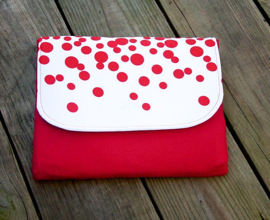 Dakota Tablet Clutch   Schnittmuster tasche, Nähen und Taschen nähen
