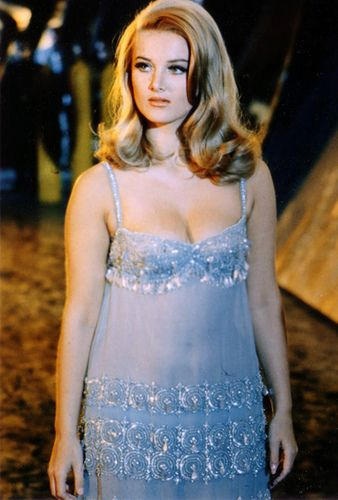 Barbara Bouchet as Moneypenny in Casino Royale (1967 ...