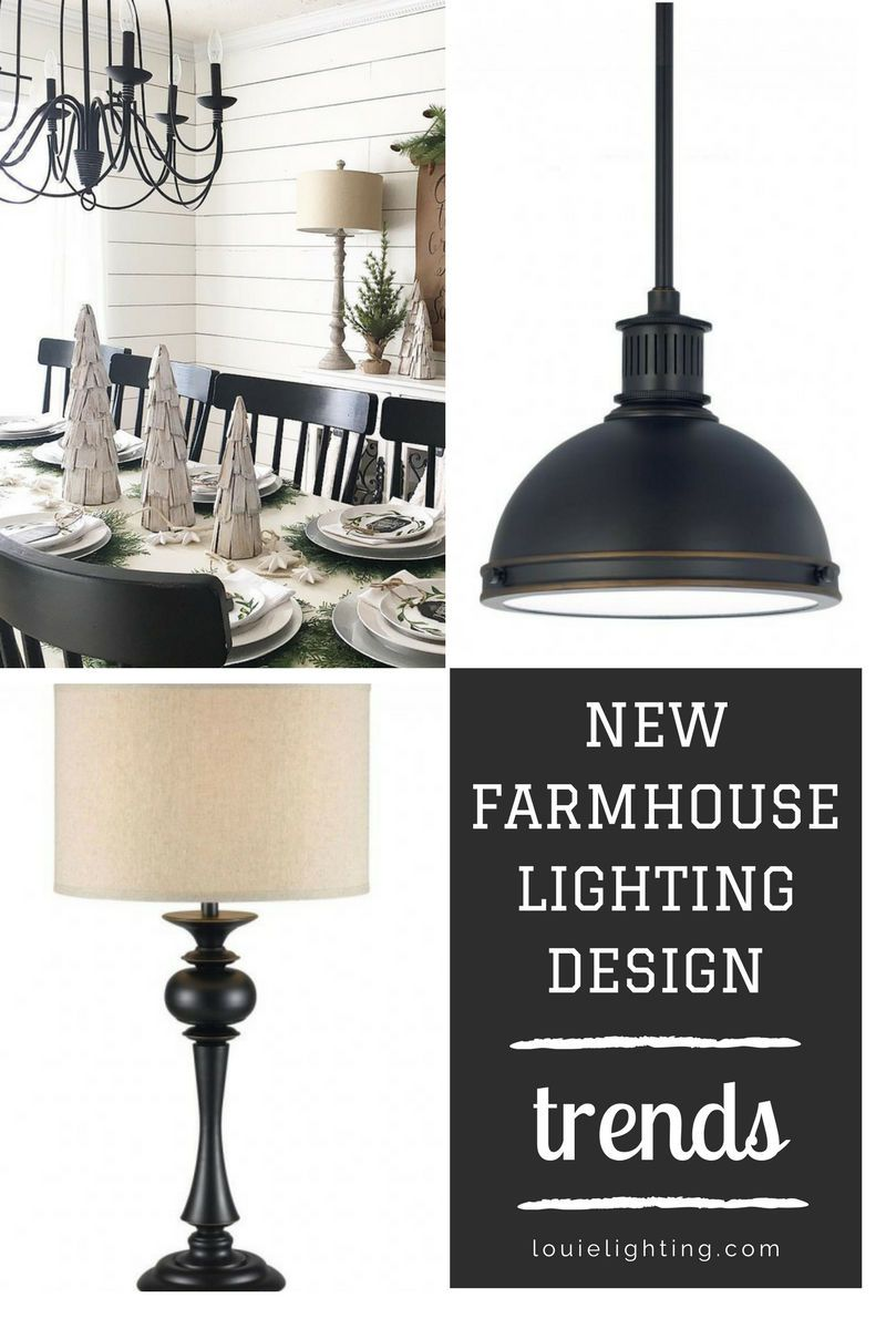 New Farmhouse Lighting Design Interior Style News