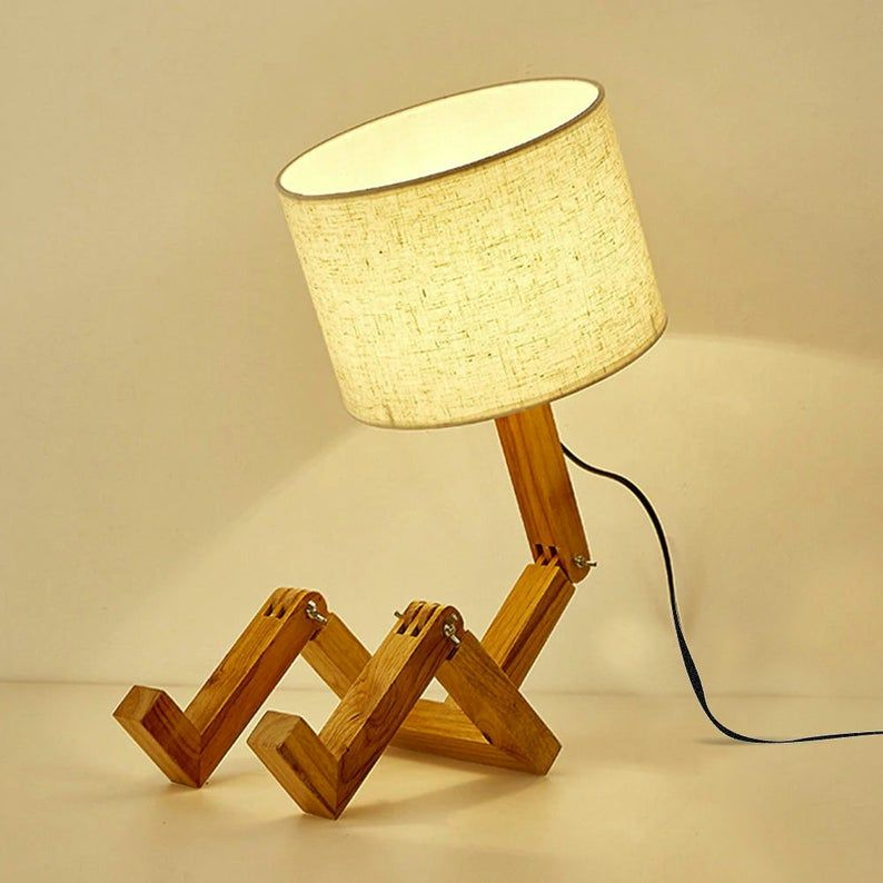 Cool Human Desk Lamp For Bedside Table Desktop Lamp Interior Night Lighting Accessories For Bedroom Office Home Decor Led Table Lamp Desktop Lamp Table Lamp