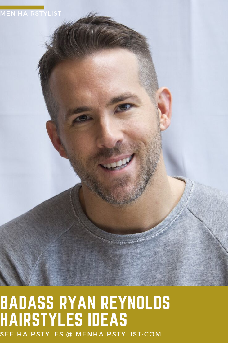 Learn How To Style Your Hair Like Ryan Reynolds Does We Ve Collected The Best Ryan Reynolds Hairstyle Ryan Reynolds Hair Ryan Reynolds Haircut Ryan Reynolds